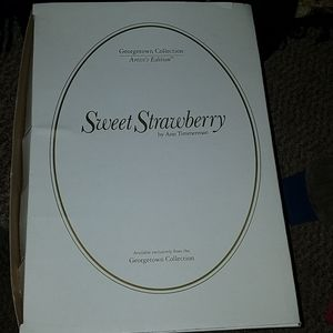 Georgetown Collection Other - Sweet Strawberry Doll